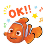 Nemo - Tray Sticker