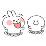 Spoiled Rabbit 8 (Part B) - Tray Sticker