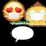 pikachu - Tray Sticker