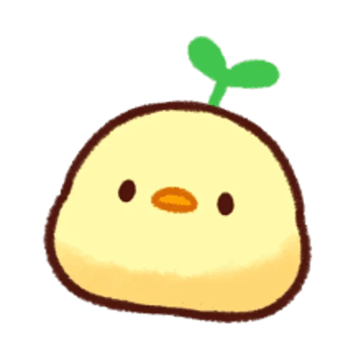 soft and cute chick 12 - Sticker 24