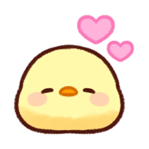 soft and cute chick 12 - Sticker 18
