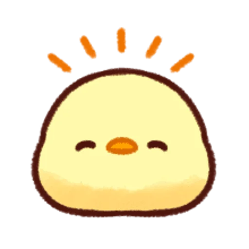soft and cute chick 12 - Sticker 16