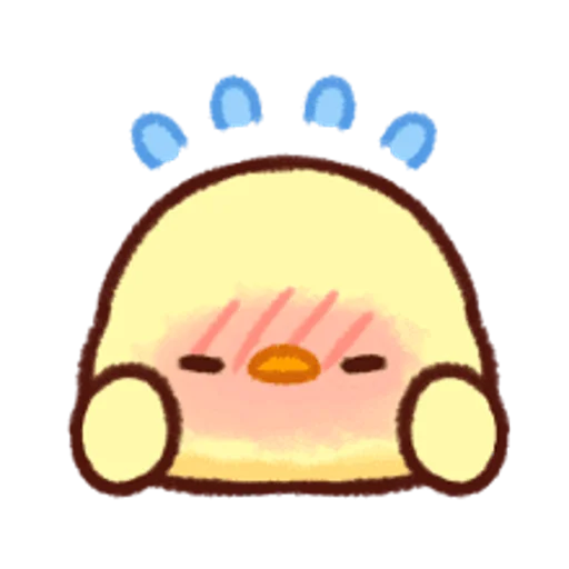 soft and cute chick 12 - Sticker 30
