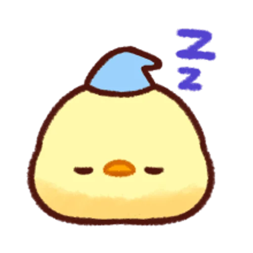 soft and cute chick 12 - Sticker 26