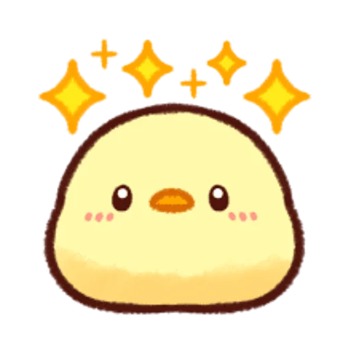 soft and cute chick 12 - Sticker 21