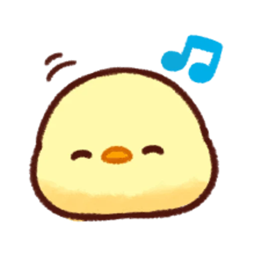 soft and cute chick 12 - Sticker 22