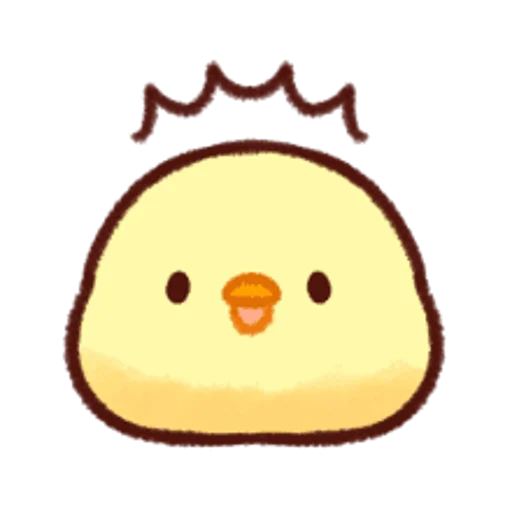 soft and cute chick 12 - Sticker 27