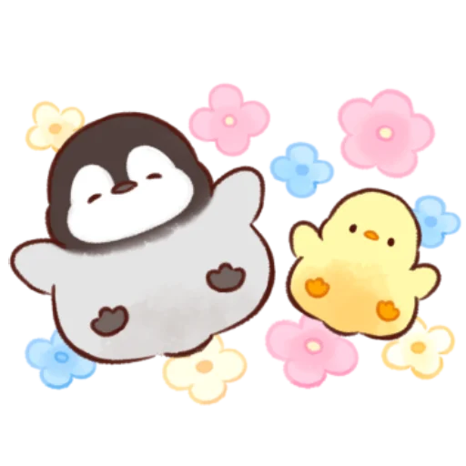 soft and cute chick 12 - Sticker 4