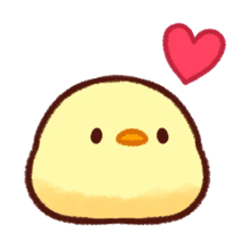 soft and cute chick 12 - Sticker 19