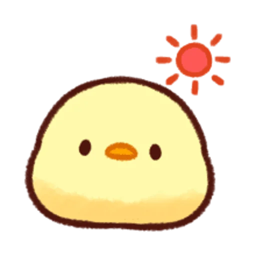 soft and cute chick 12 - Sticker 25