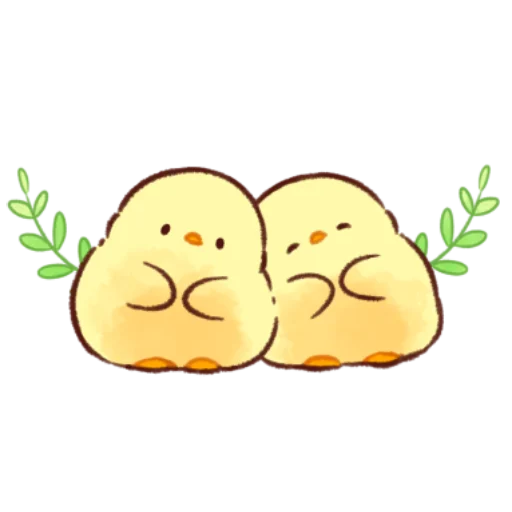soft and cute chick 12 - Sticker 9