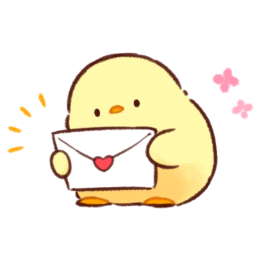 soft and cute chick 12 - Sticker 7