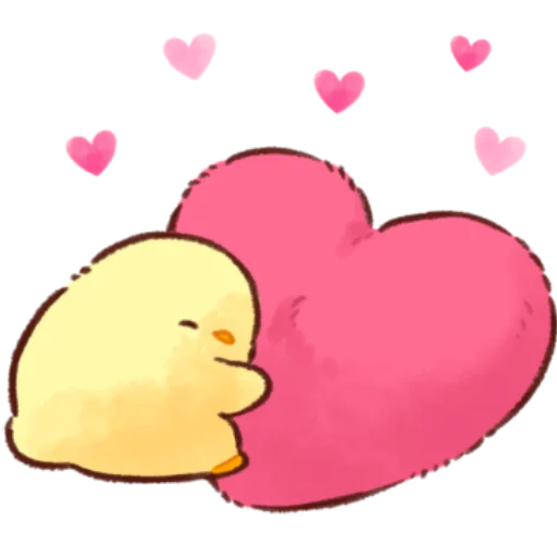 soft and cute chick 12 - Sticker 1