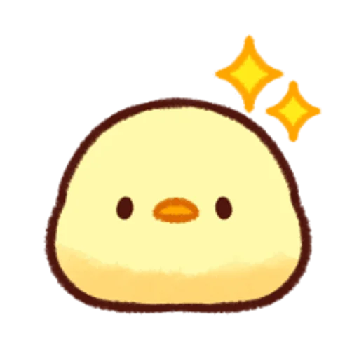 soft and cute chick 12 - Sticker 17