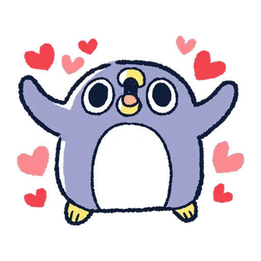 企鵝 - Sticker 1