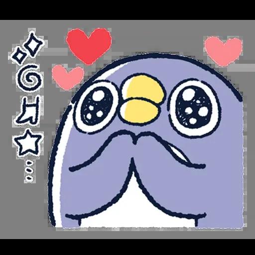 企鵝 - Sticker 4