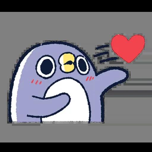 企鵝 - Sticker 13
