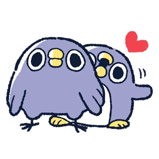 企鵝 - Sticker 17