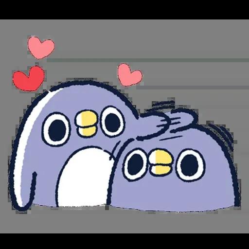 企鵝 - Sticker 16