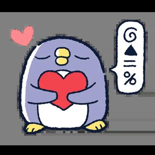企鵝 - Sticker 22