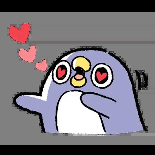 企鵝 - Sticker 21