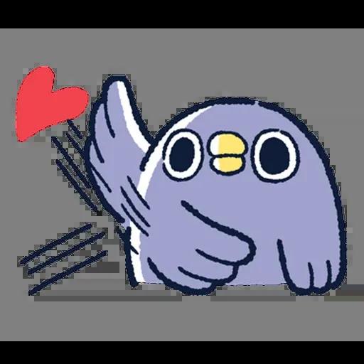 企鵝 - Sticker 14