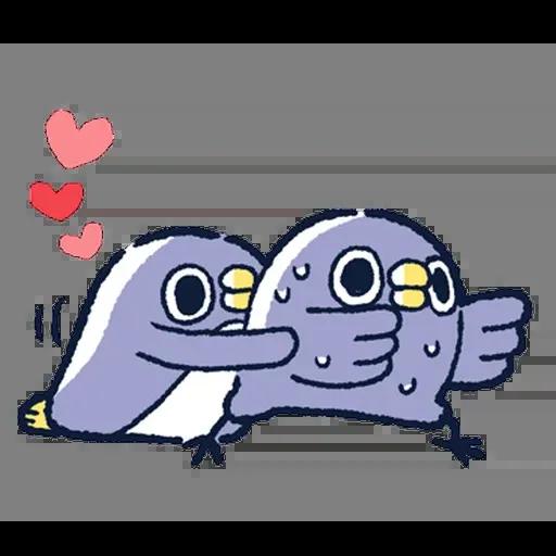 企鵝 - Sticker 8