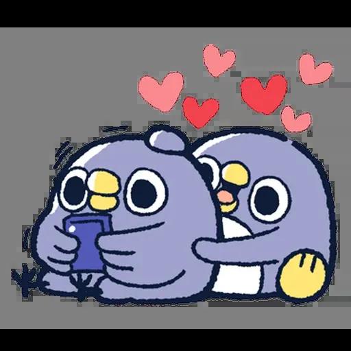 企鵝 - Sticker 18