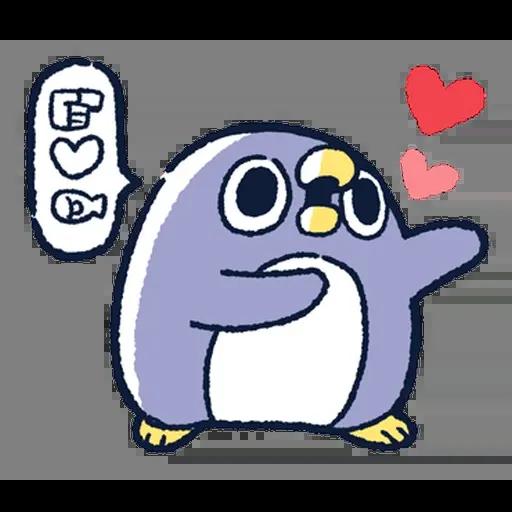 企鵝 - Sticker 2