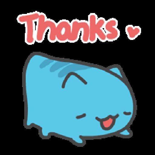 貓貓蟲咖波:喵喵叫 - Sticker 5