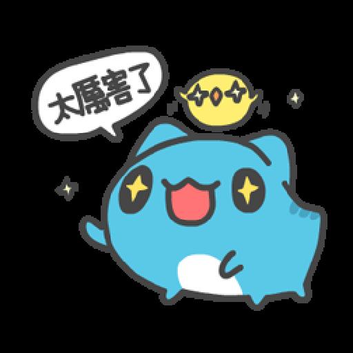 貓貓蟲咖波:喵喵叫 - Sticker 19