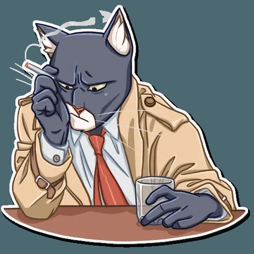 Black Cat - Sticker 5