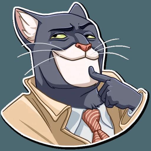 Black Cat - Sticker 7