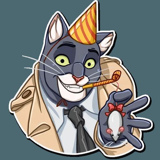 Black Cat - Sticker 23