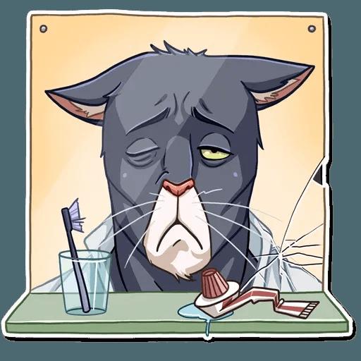 Black Cat - Sticker 10