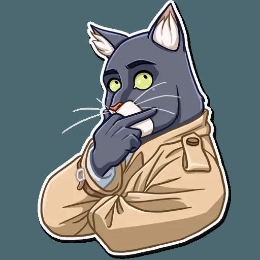 Black Cat - Sticker 13