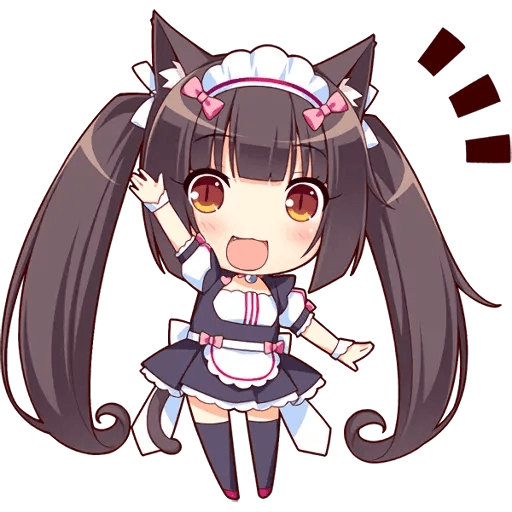 NEKOPARA - Tray Sticker