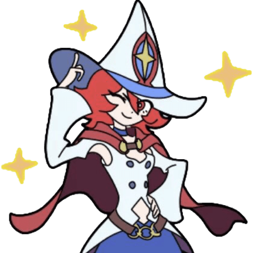 Little Witch Academia 2 - Sticker 4