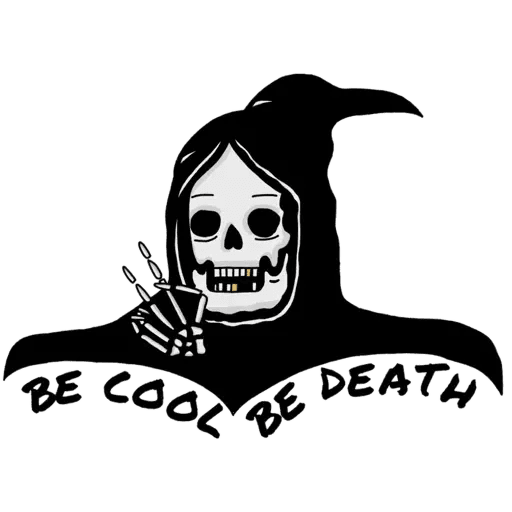Death - Sticker 3