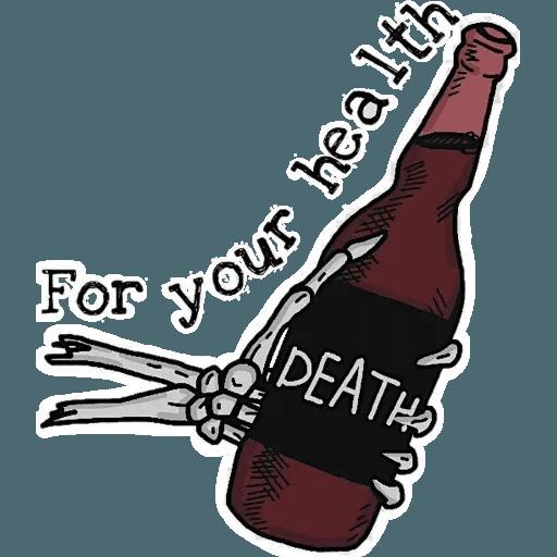 Death - Sticker 12