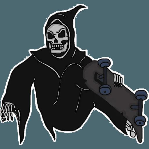 Death - Sticker 11