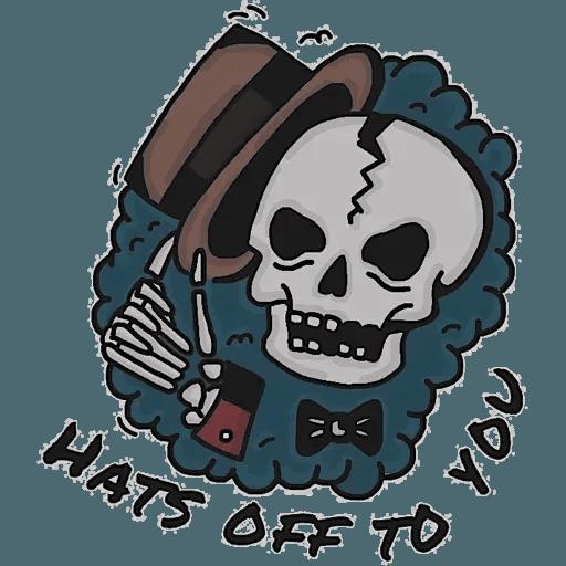 Death - Sticker 7