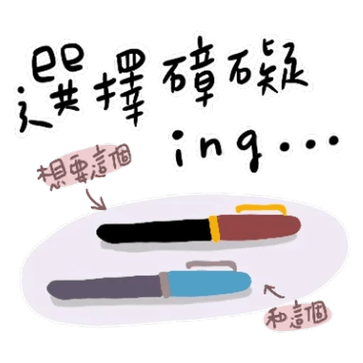 文具控專用!又愛又恨日常篇 - Sticker 12
