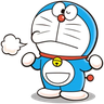 Doraemon - Tray Sticker