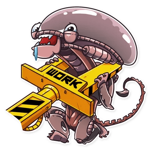 Alien - Sticker 22