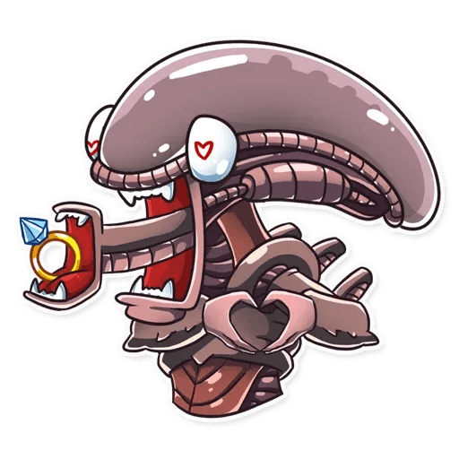 Alien - Sticker 16