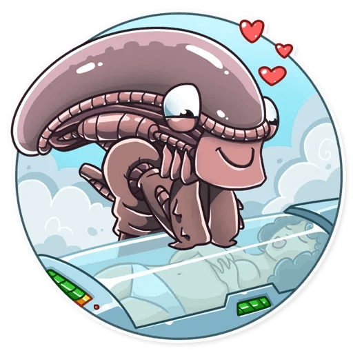 Alien - Sticker 29
