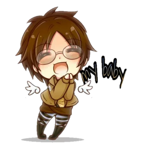 AOT Chibi 2 - Sticker 17