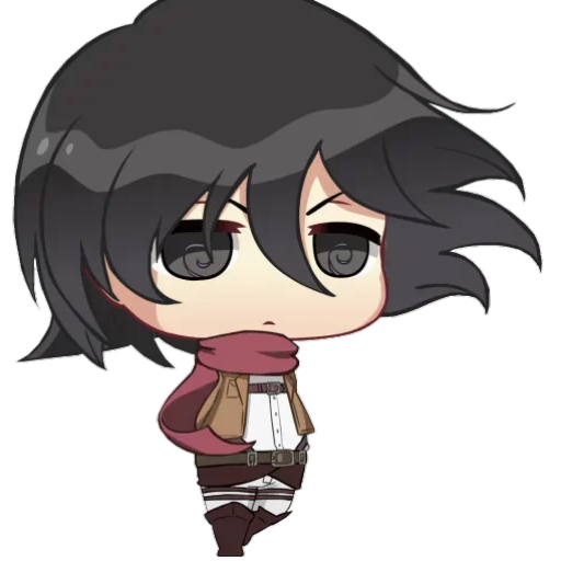 AOT Chibi 2 - Sticker 24