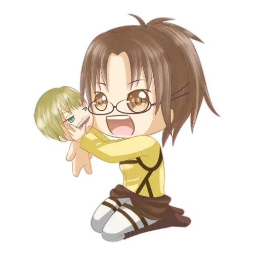 AOT Chibi 2 - Sticker 10